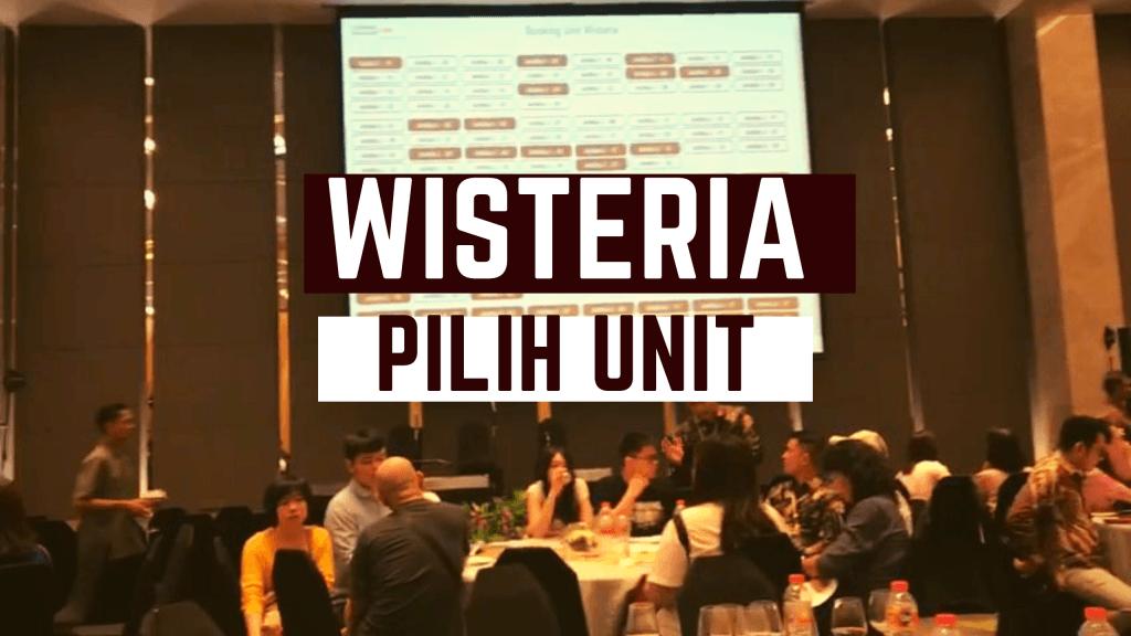 Acara Pemilihan Unit Wisteria Tahap 2