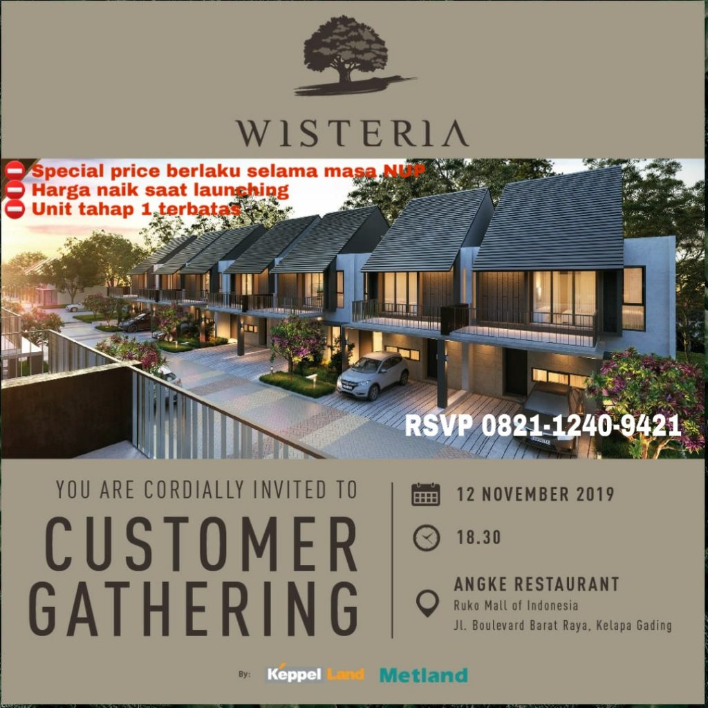 Gathering Wisteria Cakung 12 Nov 2019.